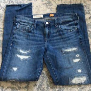 Anthropologie Pilcro Hyphen Destroyed Jeans 29